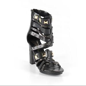 Fergie Studded Strappy Heels